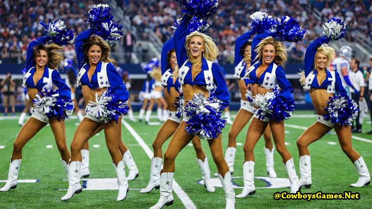 Dallas Cowboys Cheerleaders Videos
