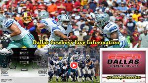 Dallas Cowboys Live Information 2017