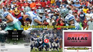 Dallas Cowboys Live Information 2017