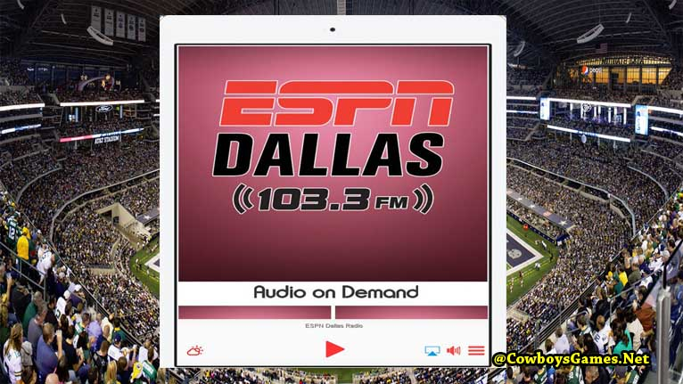 Dallas Cowboys Live Streaming Radio