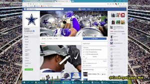 Dallas Cowboys FB Fan Page 2017