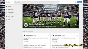 Dallas Cowboys Google Plus 2017