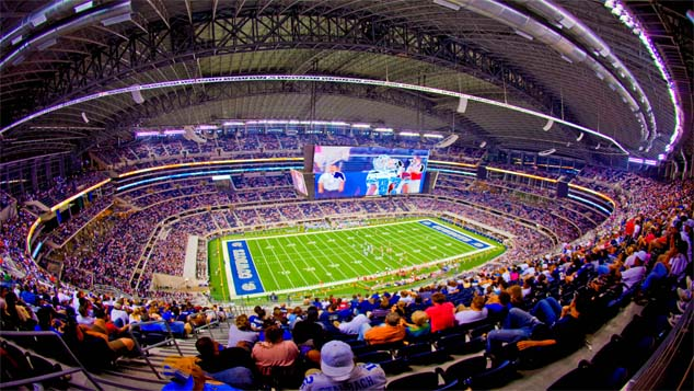 Dallas Cowboys Home Stadium AT&T Stadium