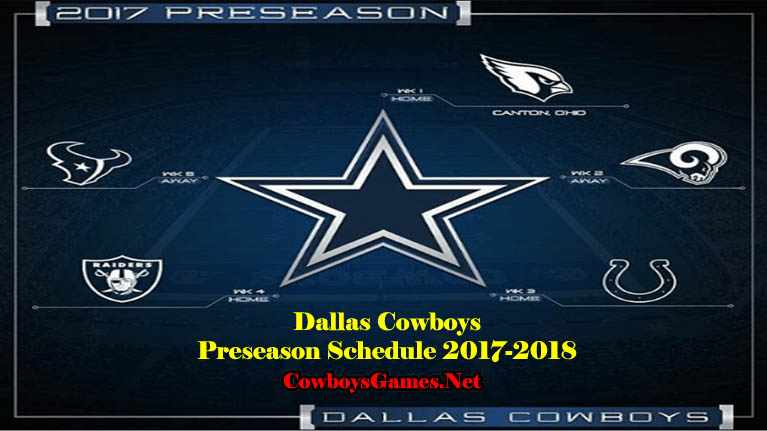 Dallas Cowboys Preseason 2017