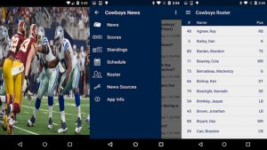 Live Stream Online Android App Reviews Dallas Cowboys Football