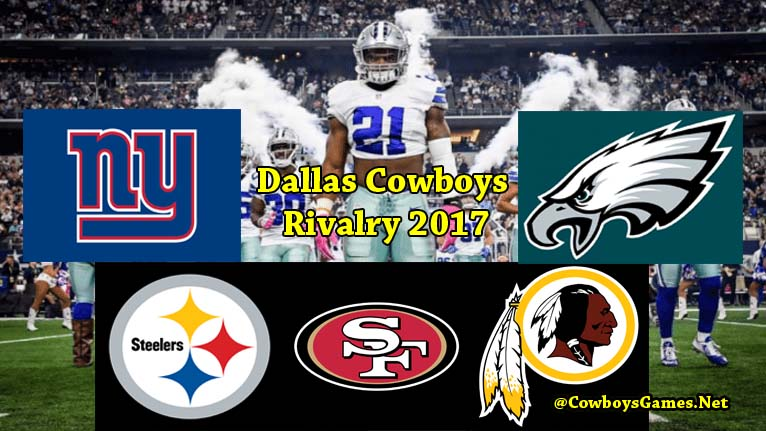 Dallas Cowboys Rivalry 2017