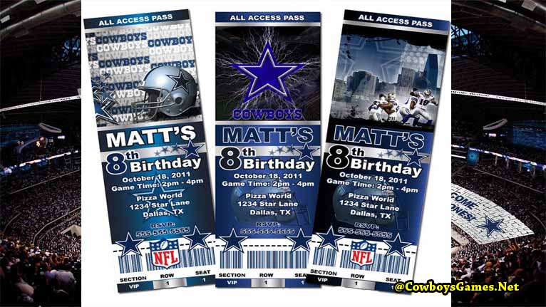 Dallas Cowboys Tickets 2017